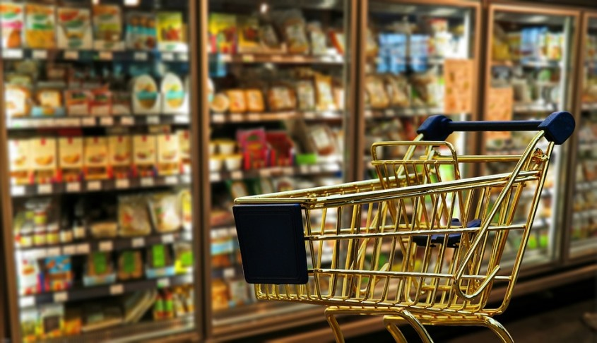 Grocery Cart Preparing for Food Shopping When Dieting Pixibay Image