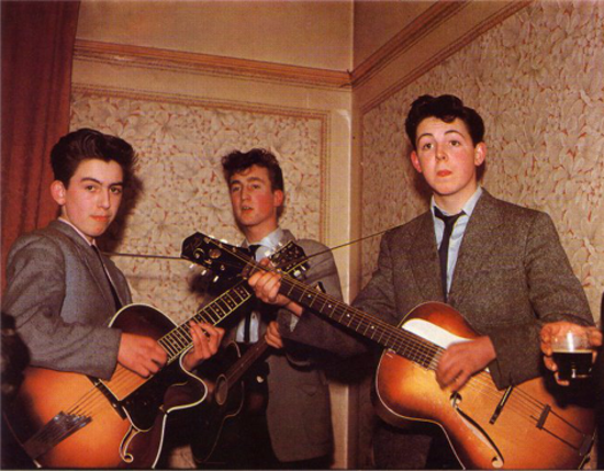The Quarrymen 1958