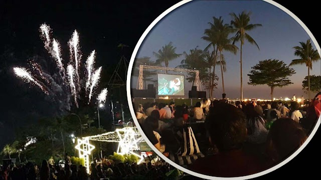 Sentosa FunFest 2019 - Movie and Firework at Palawan Green