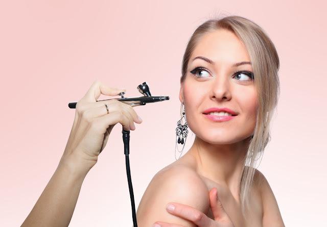 Airbrush Makeup desing for bride