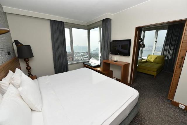 غرف فندق ذا مرمرة بيرا اسطنبول