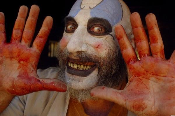 1º Capitán Spaulding (La casa de los 1000 cadáveres / 2003) - Payasos terroríficos