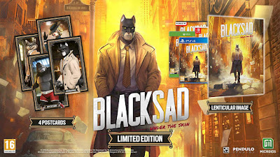 Blacksad Under The Skin Game Limited Edition