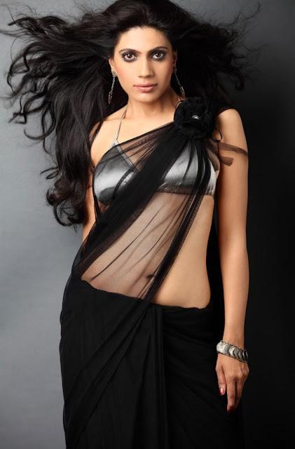 Telugu-actress-Rupali-Sulsunge-in-sari
