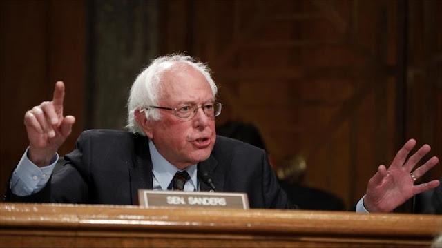 """Sanders: Agresión saudí a Yemen es un """"desastre moral"""" para EEUU"""
