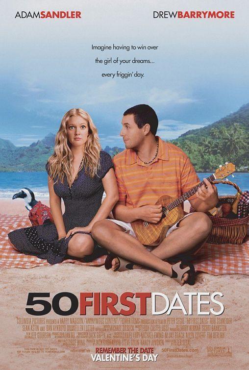 50 First Dates - ΚΑΘΕ ΦΟΡΑ ΠΡΩΤΗ ΦΟΡΑ (2004) ταινιες online seires xrysoi greek subs
