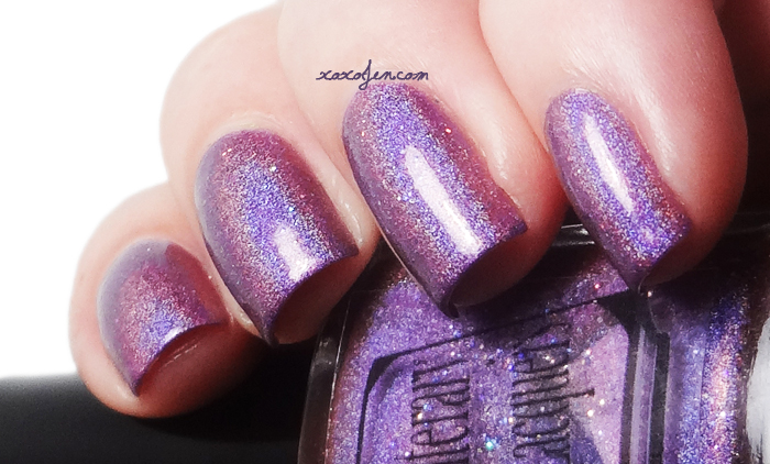 xoxoJen's swatch of Literary Lacquer Megatron