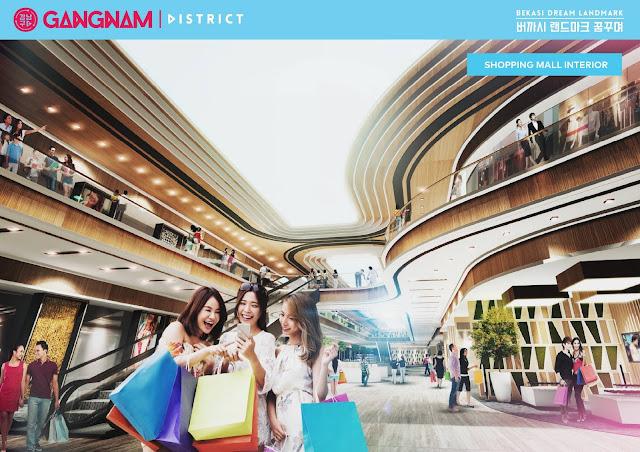 gangnam district bekasi, pollux mall at bekasi