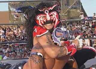 WCW Road Wild 1998: Psicosis vs. Rey Mysterio Jr.