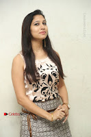 Actress Vanditha Stills in Short Dress at Kesava Movie Success Meet .COM 0035.JPG