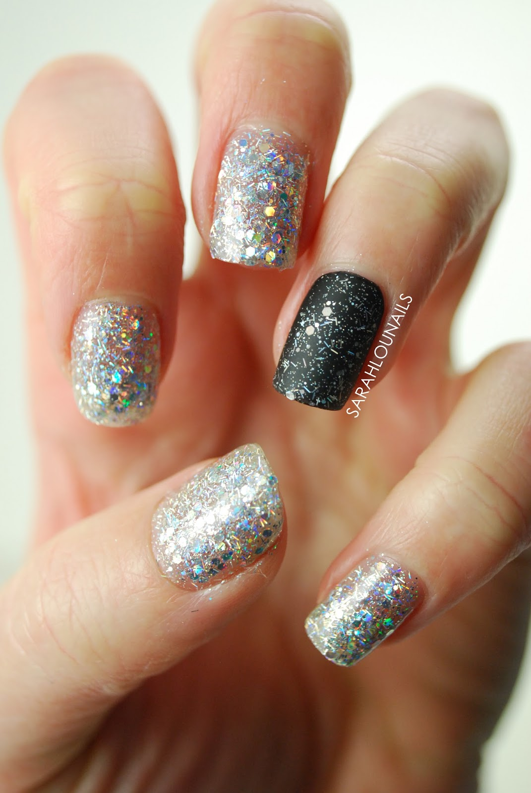 Sarah Lou Nails: New Years Eve Nails!