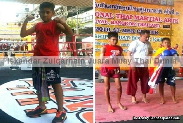Iskandar Zulqarnain Juara Muay Thai Dunia 2016 [2]