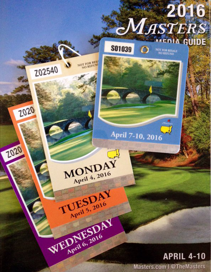 How To Watch The Masters {Masters 2016 Badges} // A Style Caddy