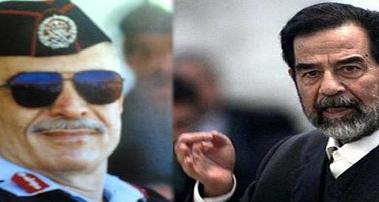 ماذا فعل صدام حسين ليحضر جنازة الملك حسين ملك الاردن