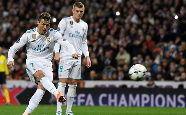 Video shows what Cristiano Ronaldo did as laser was pointed at him before penalty vs PSG