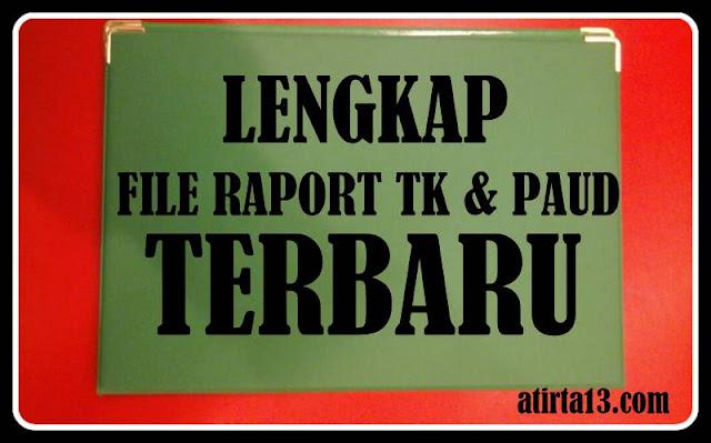 Download File Raport TK & PAUD Lengkap