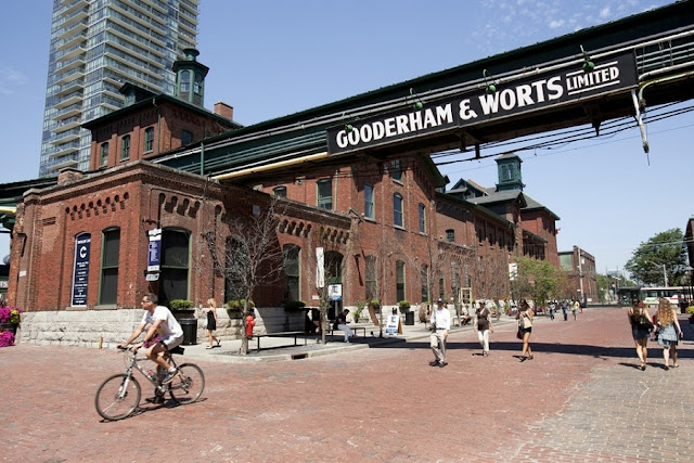 Distillery District em Toronto