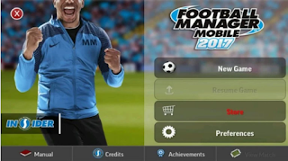 Football Manager Mobile 2017 APK+DATA v8.0 Mod Free No Root Terbaru