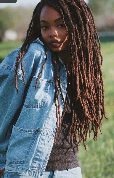 La moda en tu cabello Trenzas Africanas con pelo suelto