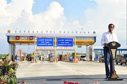 Presiden Jokowi Resmikan Jalan Tol Gempol-Pasuruan