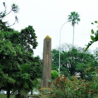 Obelisco Farroupilha da Praça Dr Gastão Leão - Guaíba
