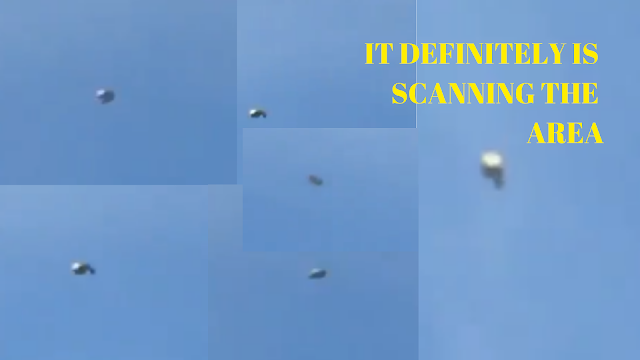 I put this image together of the same UFO but it's looking in different directions.