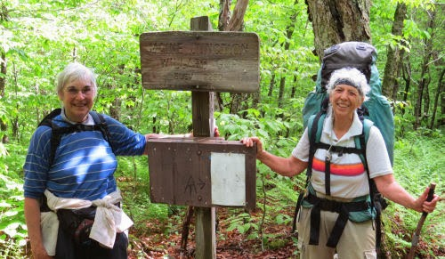 Maine Junction, North Country Trail, Long Trail, Appalachian Trail
