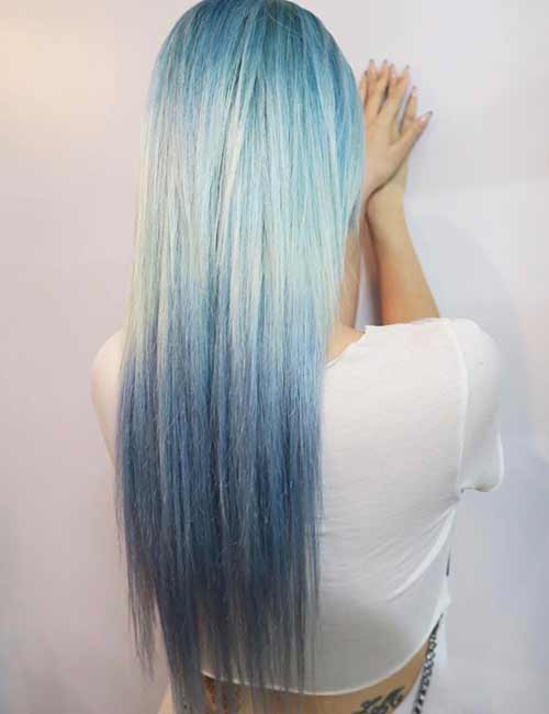 Mermaid Hair Color Idea - Clear Waters