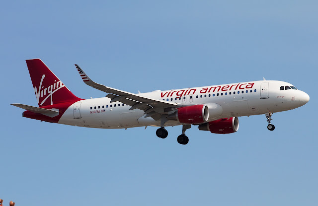Airbus A320-200 of Virgin America