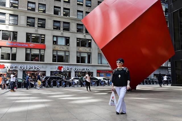 czerwona kostka, nowy jork, new york, manhattan, big apple (2)