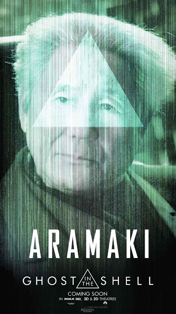 Ghost in the Shell - Aramaki Character Poster