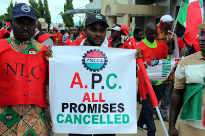 Minimum Wage: NLC Directs Workers To Begin Strike Tomorrow