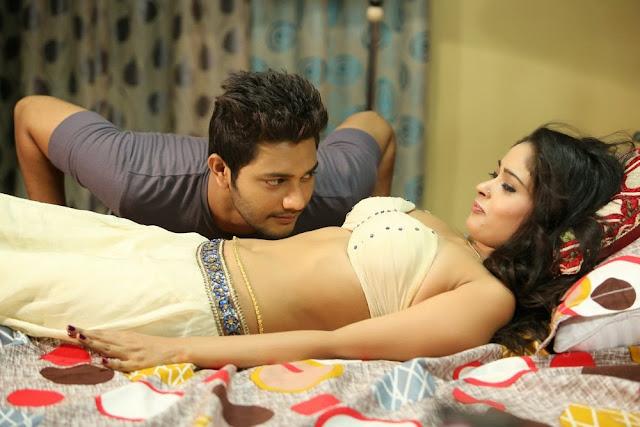 Nikitha pawar hot photos in Dollars colony navel kiss