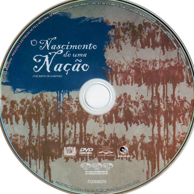 Label DVD O Nascimento de Uma Nação