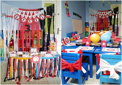 DIY Car Birthday Party