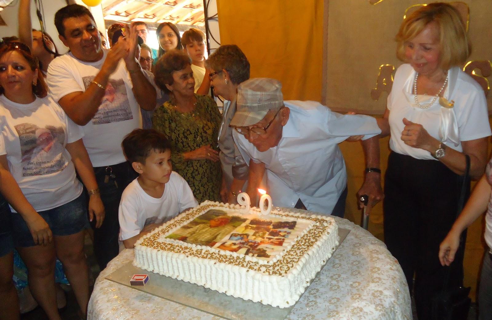 Feliz Aniversário Renato Irmão: Blog Do Rogilson Brandão: Festa De Aniversário De 90 Anos