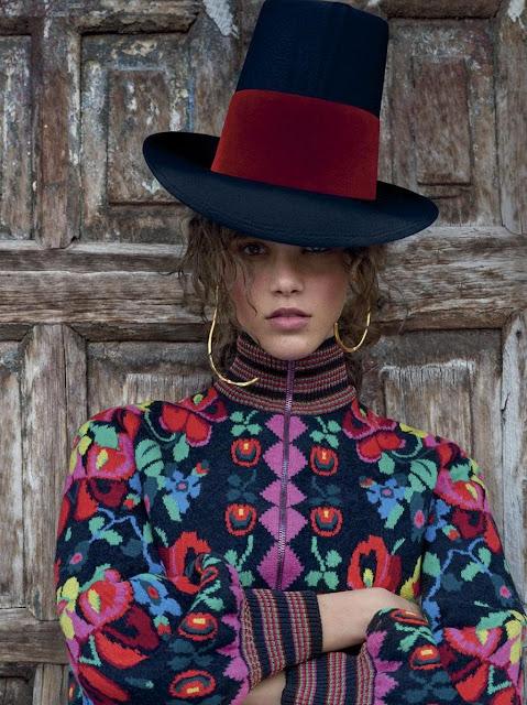 peinados sombrero 2017 look
