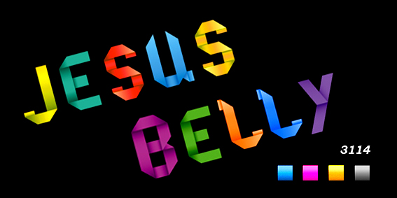 Jesus Belly 3114