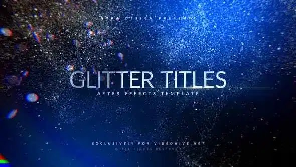 Videohive Awards Titles | Glitter 23703614
