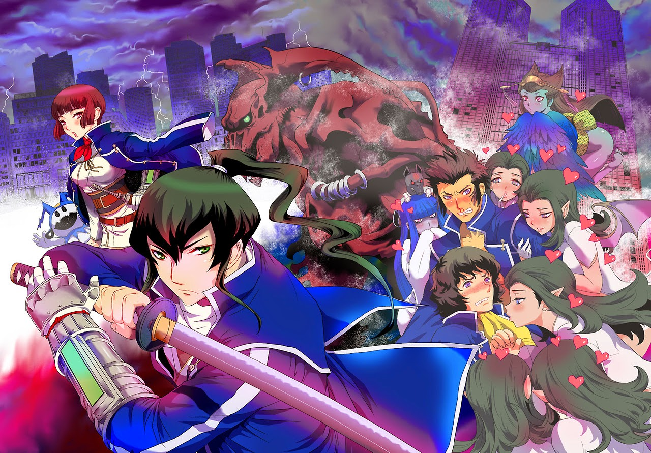 Smt Iv World Map.Rants From A Fangirl Shin Megami Tensei Iv Part Ii