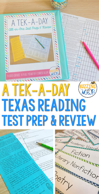 Lots of STAAR Reading products out there don't really prepare kids for the test. This resource provides kids with the opportunity to practice their strategies every day in just 10 minutes! Fun texts aligned to the genres tested in each grade are great for small group and whole group, too. Short passages with questions on all tested TEKS for each grade require students to show text evidence and get ready for their test! Check it out for third, fourth, and fifth grade!