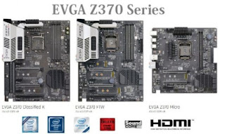 Motherboards, EVGA Z370 Series Ready to Anticipate the Existence of 8th Gen Intel Core Coffee Lake