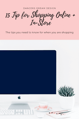 15 Tips for Shopping Online + In-Store