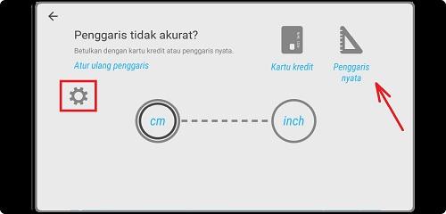 Cara Mengubah Layar Android Jadi Penggaris Panjang