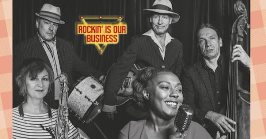 The Ballroomshakers - Rockin' Is Our Business (2018)