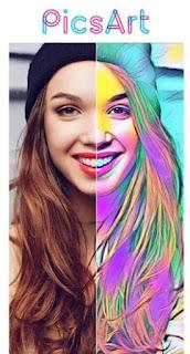 PicsArt - Photo Studio Aplikasi Edit Foto Jadi Kartun Keren