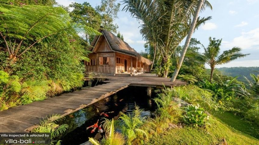 Luxury Bali Villa in Jungle