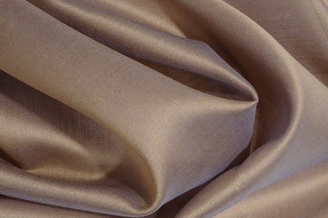 Medium Grey Cotton Silk Fabric