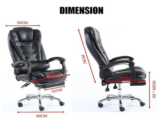 best ergonomic office chair dimensions