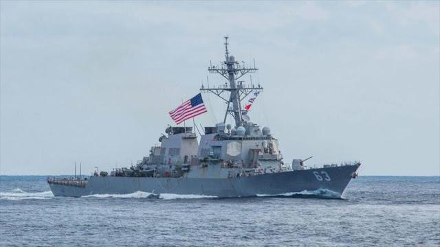 Buques de EEUU atraviesan estrecho de Taiwán irritando a China